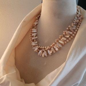 Muti-strand necklace